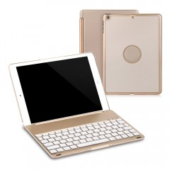 Wireless Bluetooth 3.0 Keyboard Folio Smart Case C GOLDEN