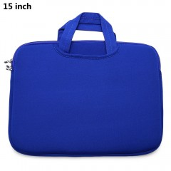 15 Inch Laptop Sleeve Bag Protective Zipper Pouch  BLUE