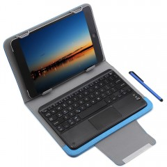 3 in 1 Universal Bluetooth Keyboard Touch Control  BLUE