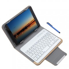 3 in 1 Universal Bluetooth 3.0 Keyboard Protective GOLDEN