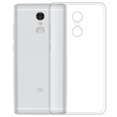 Transparent Slim Soft TPU Cover Case for Xiaomi Re TRANSPARENT