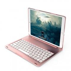 F105 Wireless Keyboard Case BT3.0 10.5 inch Tablet ROSE GOLD