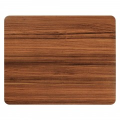 Non Slip Rubber Brown Wood Pattern Gaming Soft Mou MULTI