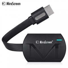 Wilkab MiraScreen G4 WiFi Display HDMI Dongle Receiver portable Wireless Screenshare device BLACK