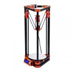 FLSUN FL - K Base Delta Portable 3D Printer Kit BLACK US PLUG