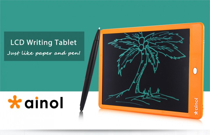 Ainol A1001 10 Inch Electronic Writing Board with LCD Screen----White