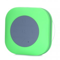 BTS08 Bluetooth Speaker with Suction Cup Portable  GREEN