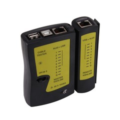 Precise Network Lan Cable Tester with USB + RJ-45 COLORMIX