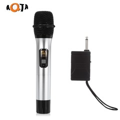 AQTA AT - 301S UHF Wireless Microphone Handheld Mi SILVER