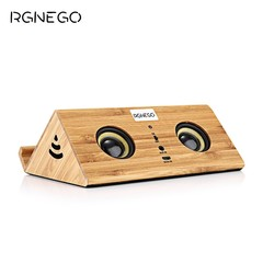 RGNEGO FYD - 918 Wooden Induction Speaker Mini Uni YELLOW