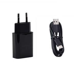gocomma EU Plug Power Charger USB 3.1 Type C Data BLACK EU PLUG