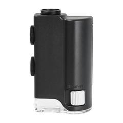 Universal Clip LED Zoom 60X-100X Zoom Microscope M BLACK