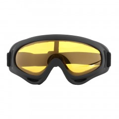Outdoor Cycling Protective Goggles Windproof Skiing Goggles with Elastic Band