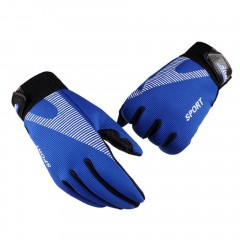 Stylish Fitness Gloves Anti-slip Windproof Thick Outdoor Cycling Gloves