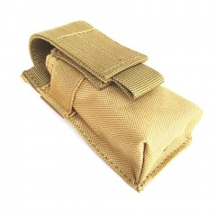 Outdoor Flashlight Bag Waterproof Nylon Tactical Pouch Small Waist Bag