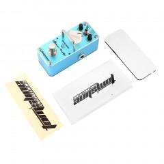 Aroma AOV-3 Ocean Verb Digital Reverb Effect Pedal Mini Guitar Equalizer