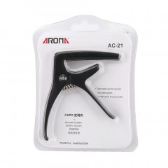 Aroma AC-21 Guitar Capo with Bridge Pin Puller for for Acoustic Digital Guitar