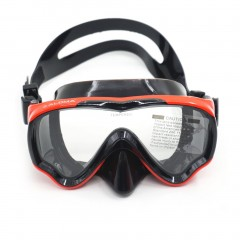 AM-100J Children Kid Anti-fog Silicone Diving Mask Goggles Swimming Equipment