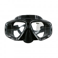 AM-308 Double Layer Waterproof Anti-fog Silicone Adult Diving Mask Goggles