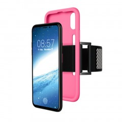 2 in 1 Sports Shockproof Silicone Phone Case + Armband For Apple iPhone X