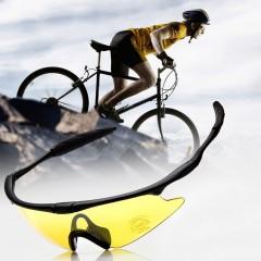 Bike Sunglasses Outdoor Sports Bicycle Glasses SPOSUNE JH004 Men Women Goggles yellow