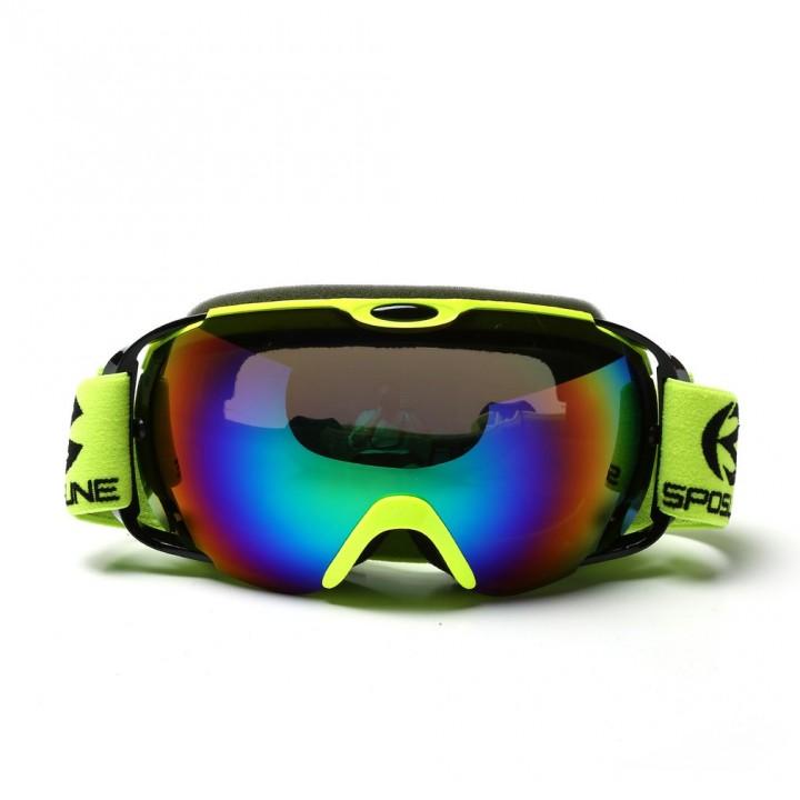 Skisport & Snowboarding Sonstige Men Women No Frame SPOSUNE Double Layers Snow Sports Anti-Fog Skiing Goggles M