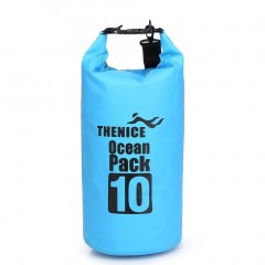 Portable Waterproof Storage Dry Bag Outdoor Equipment Travel Kit Camping Bag blue