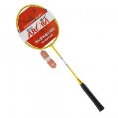A Pair/SET Carbon Aluminum Badminton Racket Sport Match Badminton Racquet