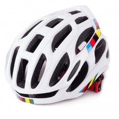 Soft Ventilation Cycling Bicycle Helmet Breathable Bike Helmet Fully-molded white