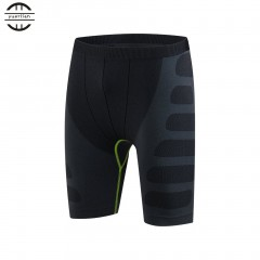 Yuerlian Elastic Quick-dry Compression Short Pants Men Sports Training Shorts