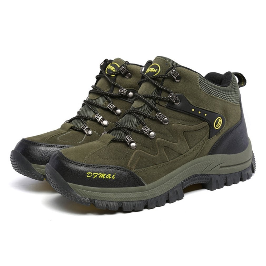 752a444171e Mens Hiking Shoes Anti-Skid Waterproof Climbing Mountain Boots Trekking  Shoes