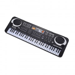 61 Keys Electronic Piano Keyboard With Microphone Children Musical Instrument EU Plug