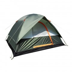 Waterproof Camping Hiking Polyester Oxford Cloth Dual Layers Tent 4 People