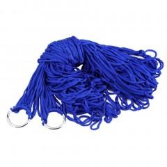 Indoor Outdoor Swing Thicken Nylon Fabric Hammock Mesh Net Hang Strong Rope
