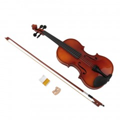 Astonvilla Spruce Wooden 4/4 Violin Lacquer Light Fiddle 4-String Instrument