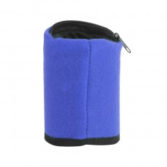 Multifunctional Fleece Outdoor Gym Cycling Hiking Wrist Wallet With Zipper