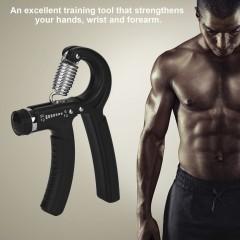 Adjustable Heavy Grips Hand Gripper Gym Power Fitness Hand Exerciser Grip black