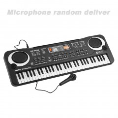 61 Key Kids Electronic Digital Keyboard Electric Organ With Random Microphone