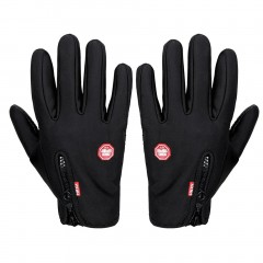 Unisex Motorcycling Touchscreen Winter Outdoor Riding Non-Waterproof Gloves