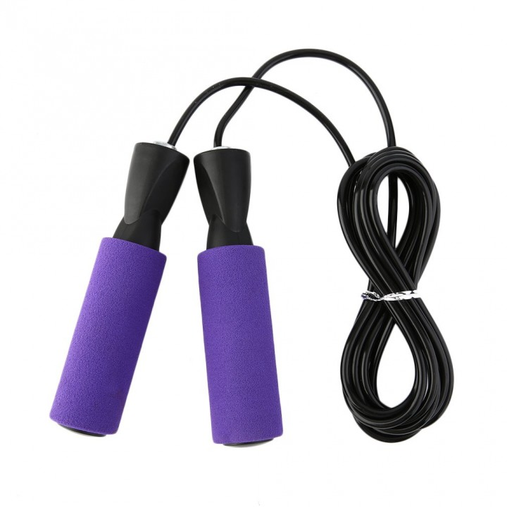 Skipping Jump Rope For Testing Aerobic Exerciseing Fitness Adjustable Bearing
