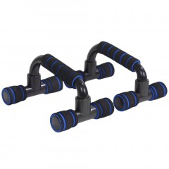 New Push Up Bars Stand Handle Exercise Training Pushup Chest Arms Tools blue default