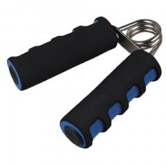 Spring Hand Grip Finger Strength Exercise Sponge Forearm Health Builder black+blue