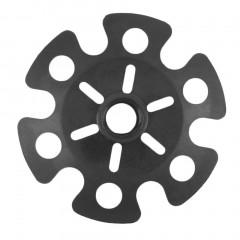 Rubber Tip End Cap Hammer Snowflake Basket for Walking Trekking Pole Stick