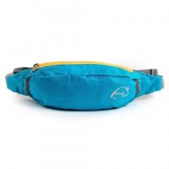 Waterproof Polyester Travel Bag Waist Pouch Fanny Purse Belt Hiking Zip Sport
