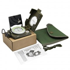 Professional Military Army Sighting Luminous Compass with Inclinometer