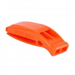 Portable Outdoor Survival Rescue Emergency Plastic Whistle With Clip