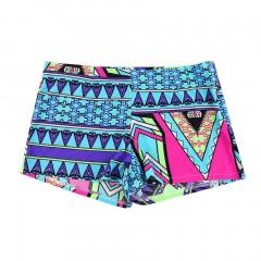Summer Vintage Sexy Women High Waist Shorts Floral Print Beach Shorts Pants