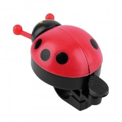 Lovely Kid Beetle Ladybug Ring Bell For Cycling Bicycle Bike Ride Horn Alarm