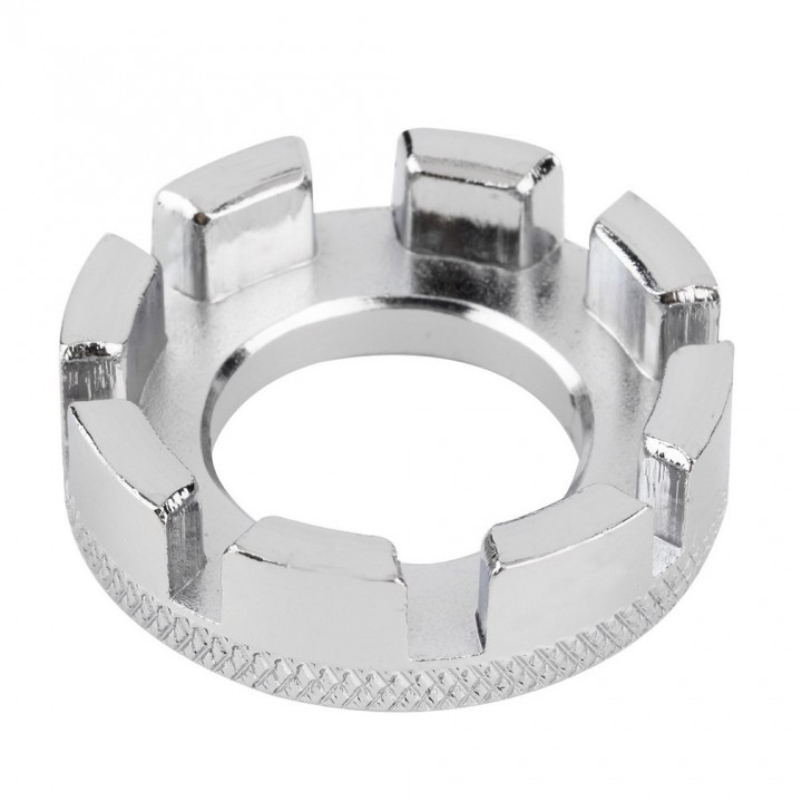 Mini Cycle Spoke Nipple Key Bike Wheel Rim 8 Way Wrench Spanner Repair Tool
