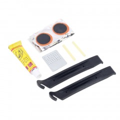 Flat Rubber Tire Tyre Tube Patch Glue Cycling Bicycle Bike Repair Fix Kit
